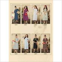 Akshara Gopinath Fashion Slit Plain Kurti Suppliers