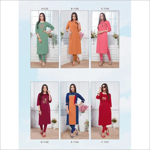 Albeli Pahervesh Fancy Cotton Kurti Supplier