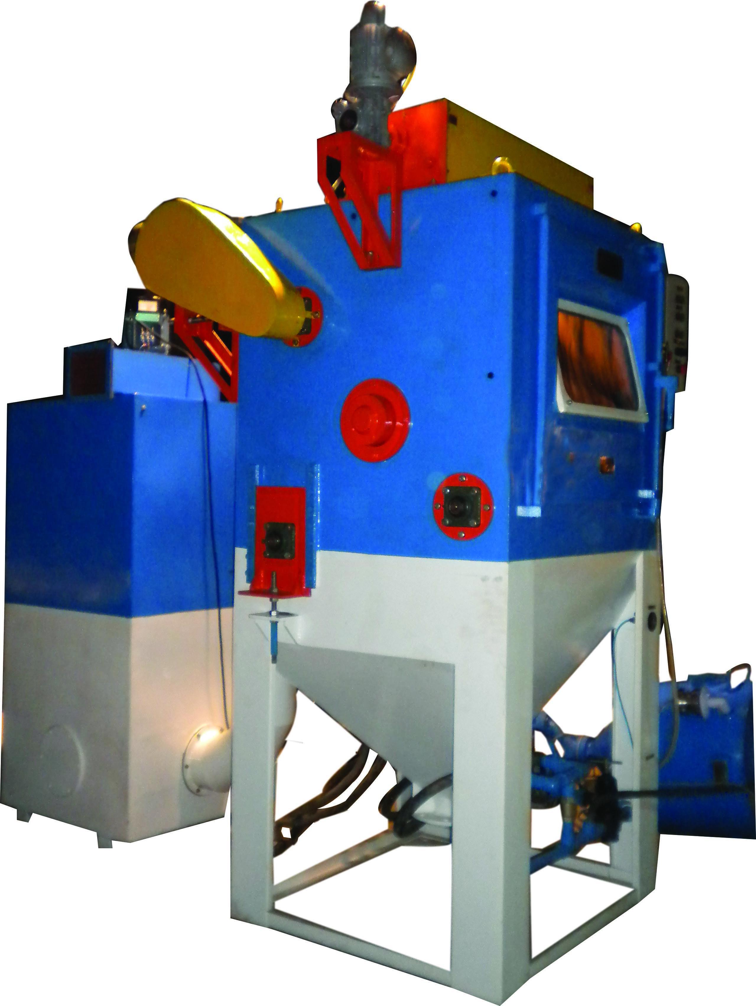 Belt Tumbler Blasting Machine