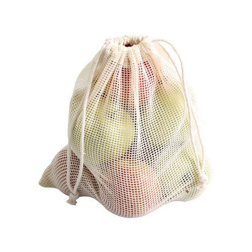 Mesh Cotton Bags