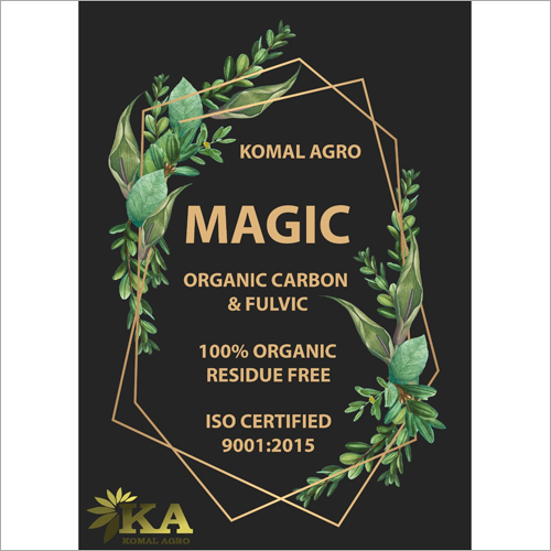 100 Percent Organic Carbon and Fulvic Chemical