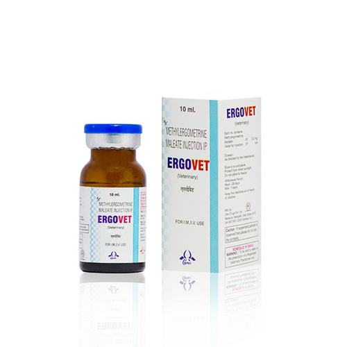 Ergovet (Methylergometrine Maleate injection)