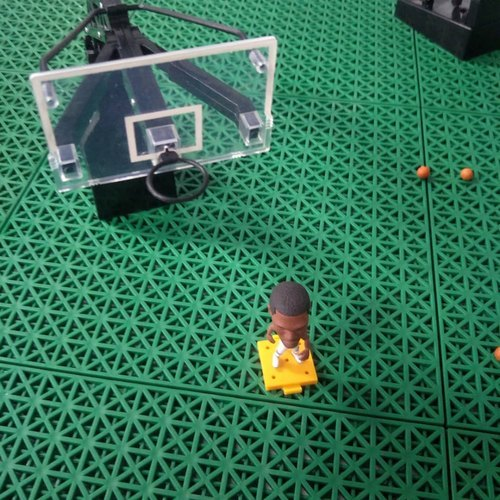 Easy Install Outdoor PP Basketball Interlocking Sports Court