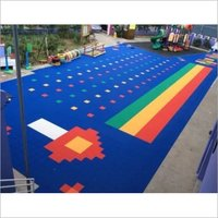 PP Interlocking Modular Floor for Sports Fields