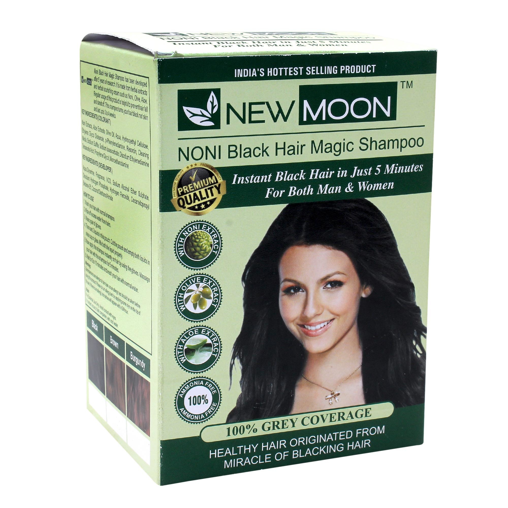New Moon Noni Aloevera Hair Shampoo