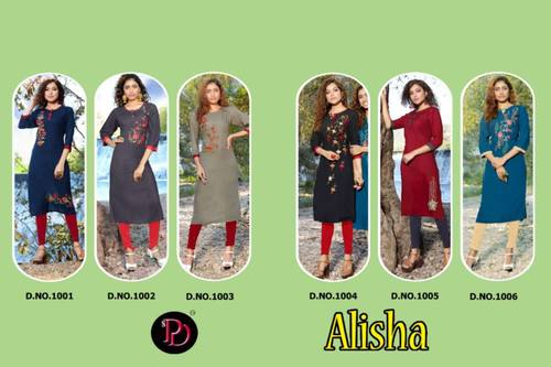 Alisha Daily Wear Kurtis Wholesale Set