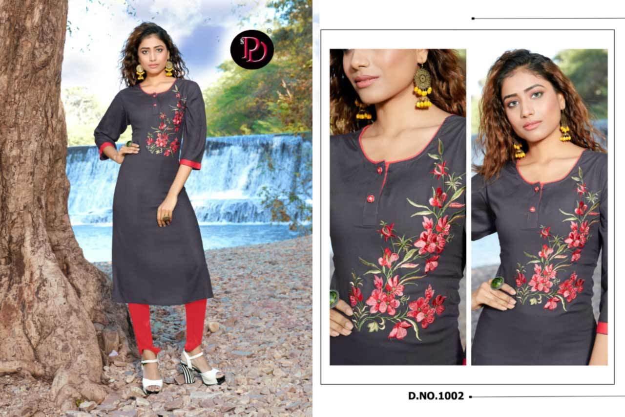 Alisha Daily Wear Kurtis