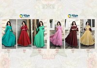 Alisha Vol-2 Riya Designer Pure Namo Slubh Flair Kurti