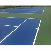 Synthetic Tennis Court