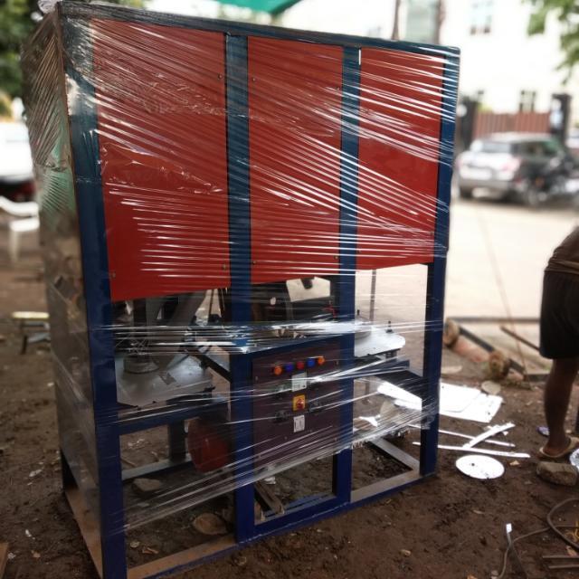 Double Die Dona Thali Making Machine