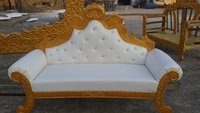 Marriage Wooden Sofa