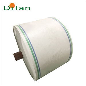 PP Woven Milky Fabric Roll