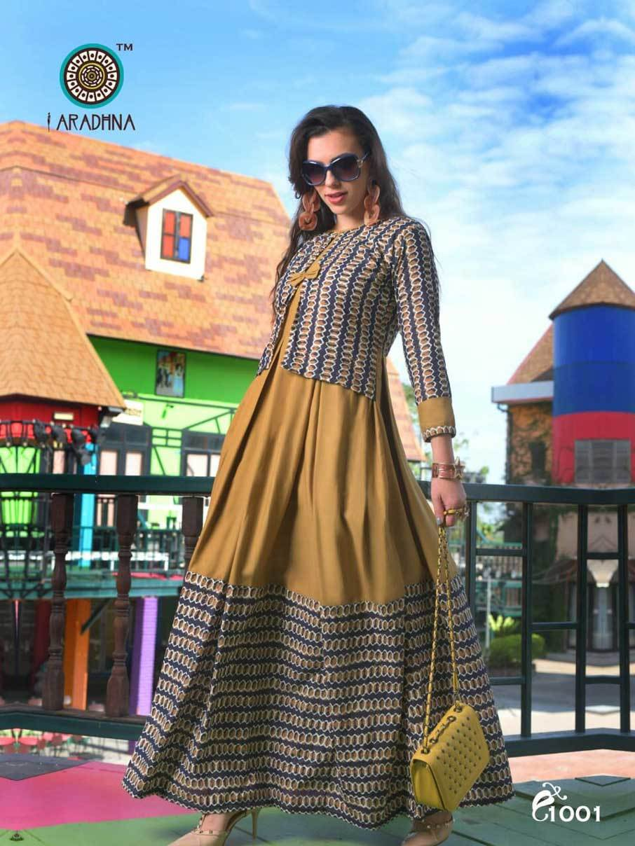 Altima Aradhna Printed Festive Exclusive Long Kurta