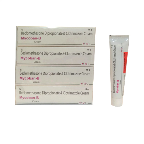 15 gm Beclomethasone Dipropionate and Clotrimazole Cream