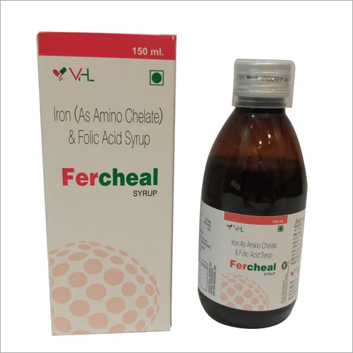 150 ml Iron As Amino Chelate Folic Acid Syrup