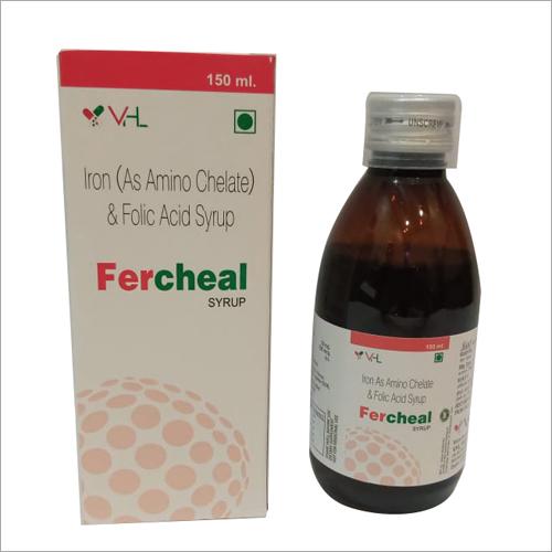 150 ml Iron As Amino Chelate Folic Acid Syrup