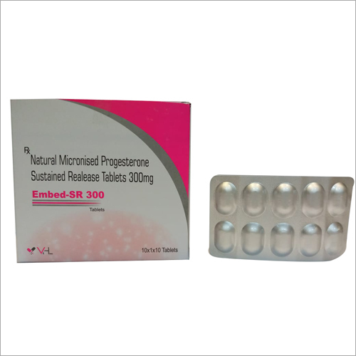 300 mg Natural Micronised Progesterone Sustained Realease Tablets