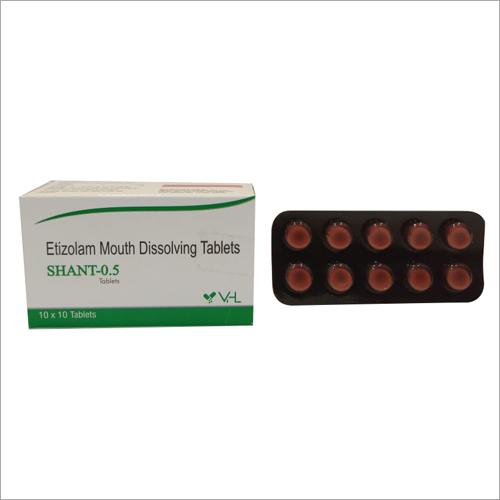 Etizolam Mouth Dissolving Tablets