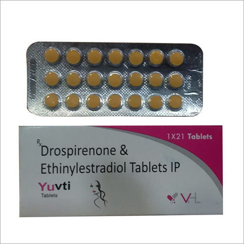Drospirenone And Ethinylestradiol Tablets
