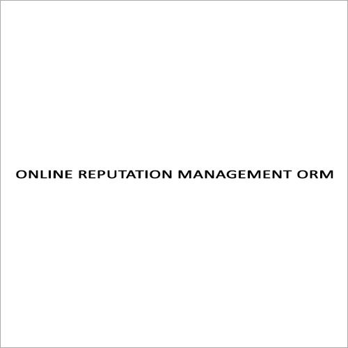 Online Reputation Management ORM