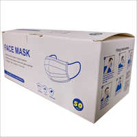 3 Ply Disposable Nonwoven Face Mask