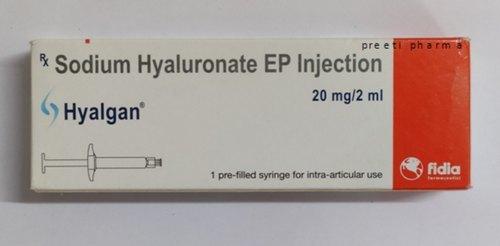 Hyalgan 20mg/2ml Hyaluronic Injection