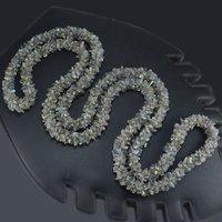 Labradorite Gemstone Chips Necklace PG-156065