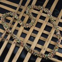 Unakite Gemstone Chips Necklace PG-156066