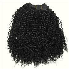 Weft Kinky Curly Remy Hair