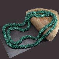 Malachite Gemstone Chips Necklace PG-156070