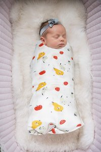 Baby Muslin Swaddle Set of Three