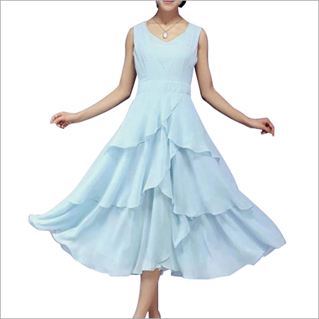 Ladies Flared Gown