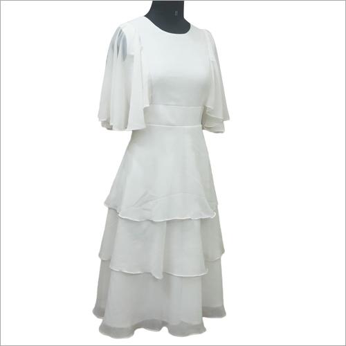 Ladies Plain Gown