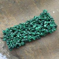 Malachite Gemstone Chips Bracelet PG-156082