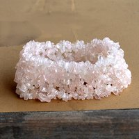 Rose Quartz Gemstone Chips Bracelet PG-156083