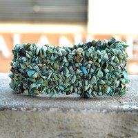 Turquoise Gemstone Chips Bracelet PG-156084