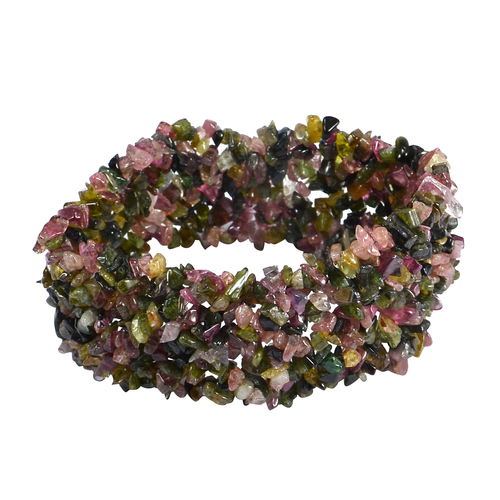 Tourmaline Gemstone Chips Bracelet PG-156086