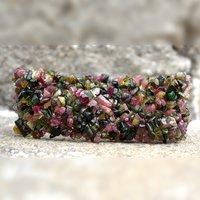 Tourmaline Gemstone Chips Bracelet PG-156086