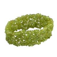 Peridot Gemstone Chips Bracelet PG-156087