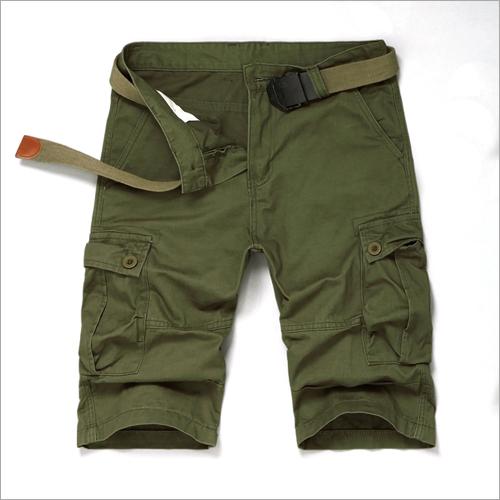 Men Cargo Half Pant