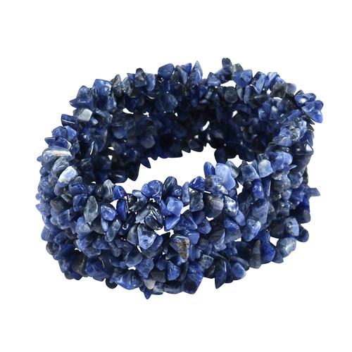 Sodalite Gemstone Chips Bracelet PG-156089
