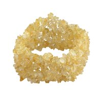 Citrine Gemstone Chips Bracelet PG-156090