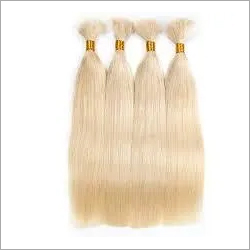 Bulk Straight Blonde Remy Hair