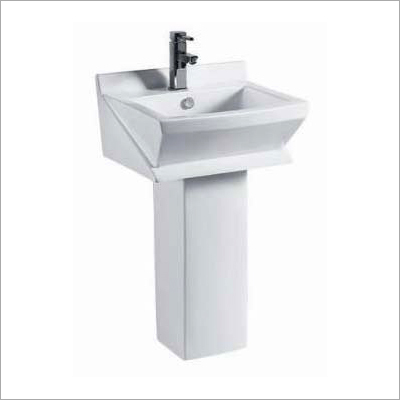 Floor Mounted Pedestal Wash Basin