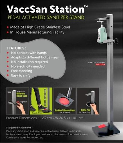 PADAL ACTIVATED SANITIZER STAND