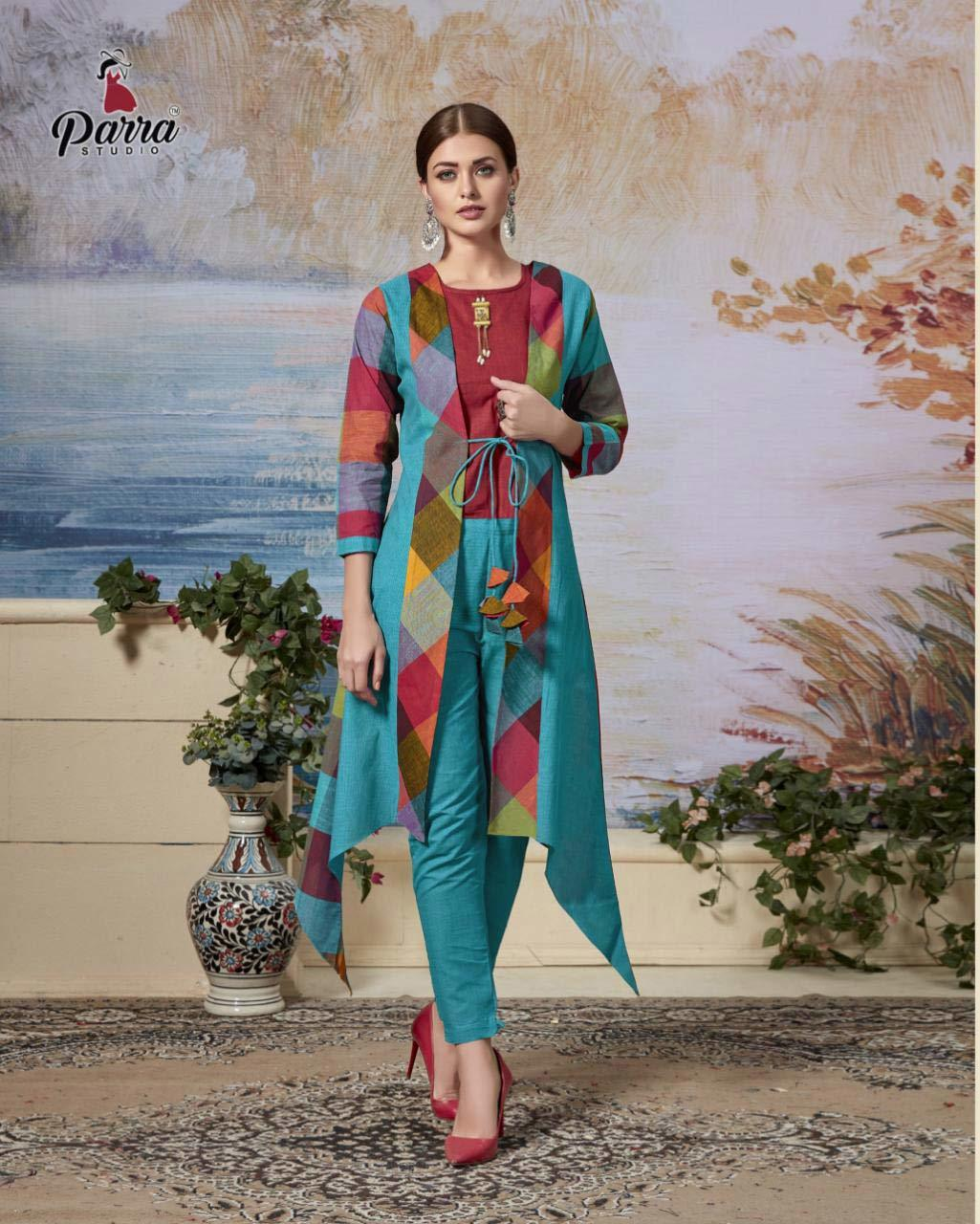 Amaya Vol-3 Parra Studio Kurti Supplier Wholesaler