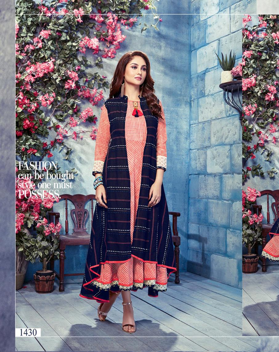 Ambika Present Glamour Anarkali Long Kurti