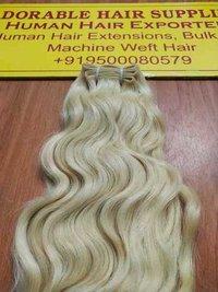 Blonde Bulk Human Hair
