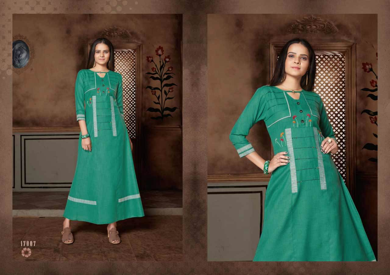 Amisa Chapter-2 Art Riddh Kurti Catalog Sets