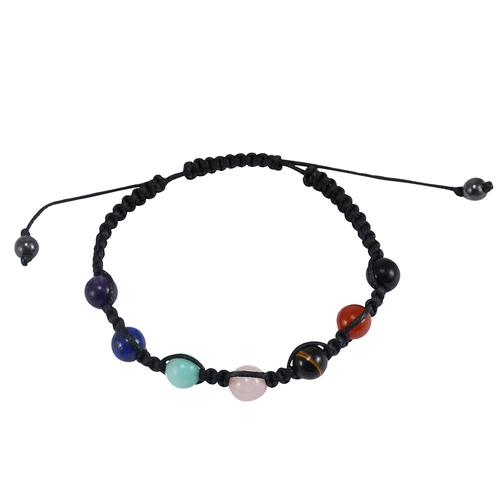 Multi Gemstone Adjustable Bracelet PG-156098